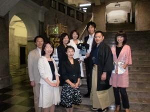 20100608 市役所食堂にて